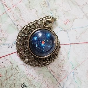 Modcloth Galactic Orbit Necklace